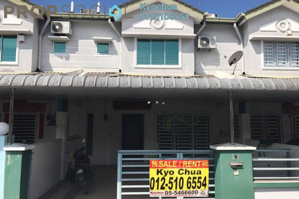 For Sale Terrace at Klebang Ria, Bandar Baru Sri Klebang Freehold Semi Furnished 4R/3B 318k