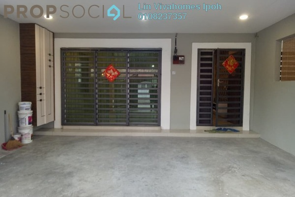 For Sale Terrace at Taman Pengkalan Utama, Ipoh Leasehold Semi Furnished 4R/4B 403k
