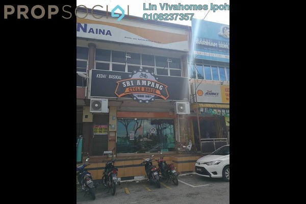 For Rent Shop at Taman Ampang, Ipoh Freehold Unfurnished 0R/1B 800translationmissing:en.pricing.unit
