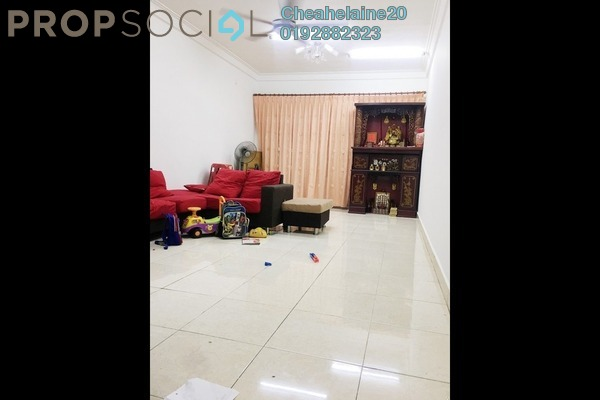For Sale Townhouse at Villa Mas 1, Jalan Ipoh Freehold Semi Furnished 3R/3B 640k