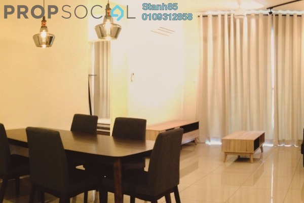 For Rent Condominium at Ascenda Residence @ SkyArena, Setapak Freehold Fully Furnished 3R/2B 2.4k
