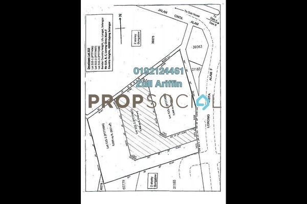 For Sale Land at Country Heights Kajang, Kajang Freehold Unfurnished 0R/0B 1.37m