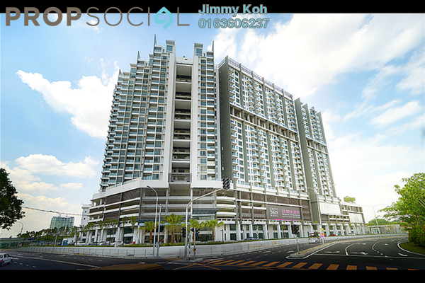 For Rent Condominium at Univ 360 Place, Seri Kembangan Freehold Fully Furnished 2R/1B 1.4k