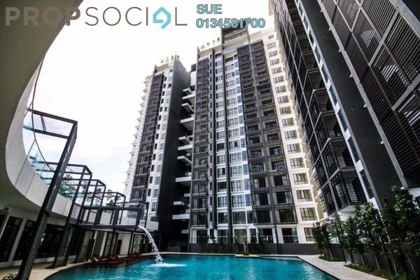 For Sale Condominium at Selayang 18, Selayang Freehold Semi Furnished 2R/2B 455k