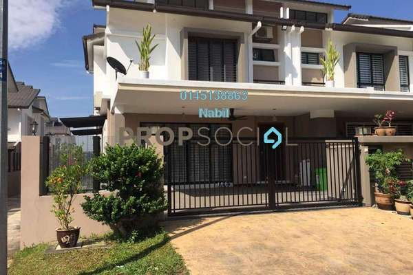 For Sale Terrace at Serissa Terrace, Denai Alam Freehold Unfurnished 4R/3B 1.05m