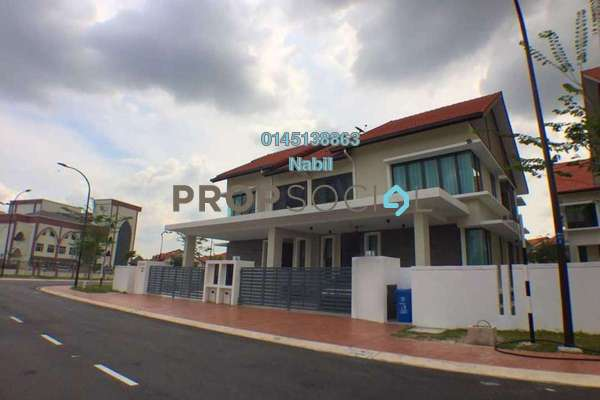 For Sale Semi-Detached at Lukisan, Alam Impian Freehold Unfurnished 4R/5B 1.6m