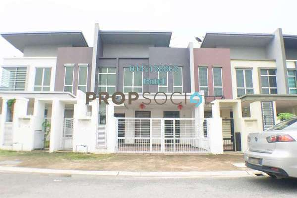 For Sale Terrace at Paloma, Bandar Bukit Raja Freehold Unfurnished 4R/3B 860k