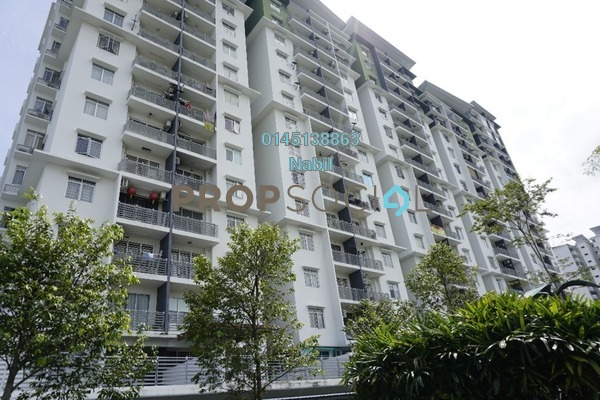 For Sale Condominium at Pearl Avenue, Kajang Freehold Unfurnished 3R/2B 390k