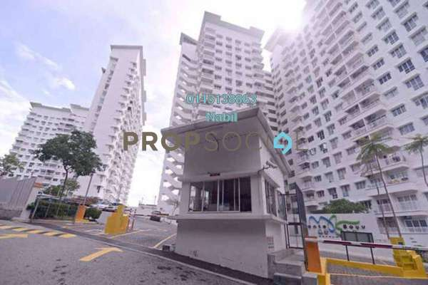 For Sale Condominium at Monte Bayu, Cheras Freehold Unfurnished 3R/2B 385k