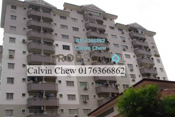 For Sale Apartment at Jati 1 Apartment, Subang Jaya Leasehold Unfurnished 3R/2B 279k