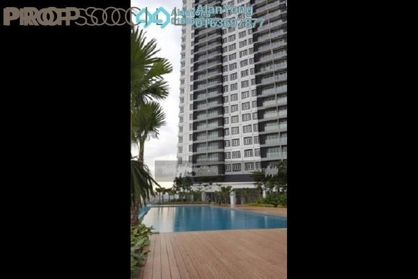 For Rent Condominium at Mercury Serviced Apartment @ Sentul Village, Sentul Freehold Semi Furnished 3R/2B 1.5k