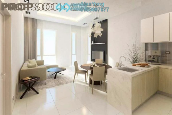 For Rent Condominium at Icon Residence (Mont Kiara), Dutamas Freehold Fully Furnished 1R/1B 2.8k