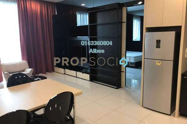 For Rent Condominium at First Subang, Subang Jaya Freehold Fully Furnished 2R/1B 2.1k