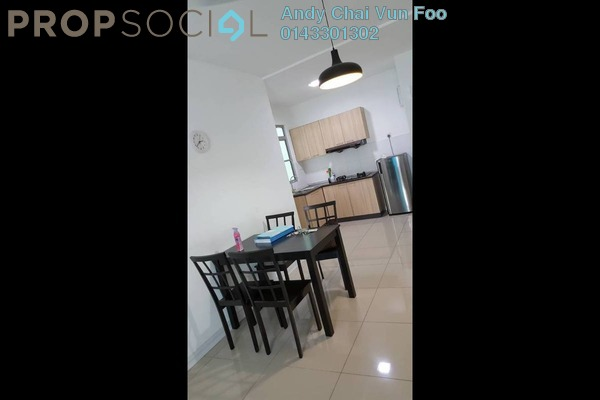 For Rent Condominium at Kiara Residence, Bukit Jalil Freehold Fully Furnished 3R/2B 2.2k