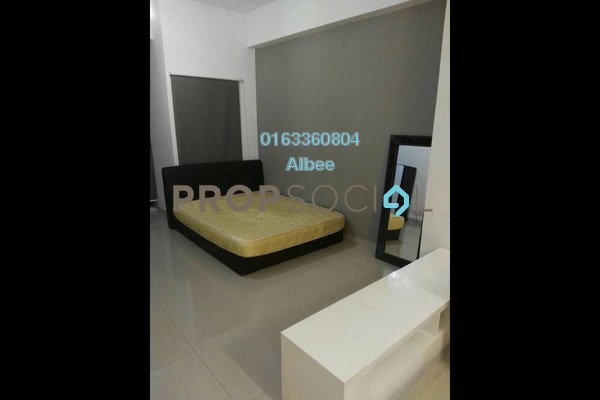 For Rent Condominium at First Subang, Subang Jaya Freehold Fully Furnished 0R/1B 1.5k