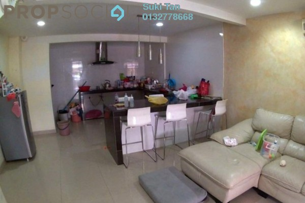 For Sale Terrace at Taman Sri Sinar, Segambut Freehold Semi Furnished 3R/2B 395k