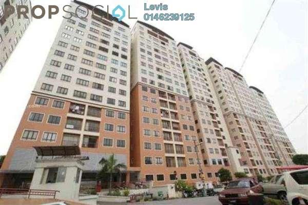 For Sale Condominium at Glen View Villa, Cheras Freehold Semi Furnished 3R/2B 350k