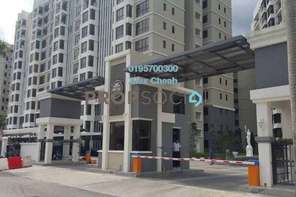For Sale Condominium at Upper East @ Tiger Lane, Ipoh Freehold Unfurnished 3R/2B 500k