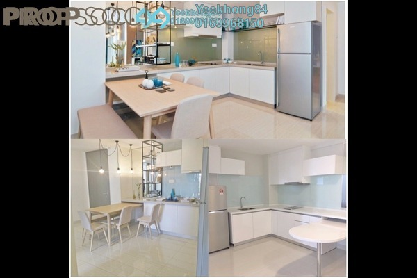 For Rent Condominium at Dex @ Kiara East, Jalan Ipoh Freehold Fully Furnished 3R/2B 2.5k