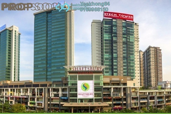 For Rent Serviced Residence at Shaftsbury Square, Cyberjaya Freehold Semi Furnished 1R/1B 1k