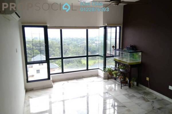 For Rent Condominium at Sang Suria, Sentul Freehold Semi Furnished 3R/2B 1.9k