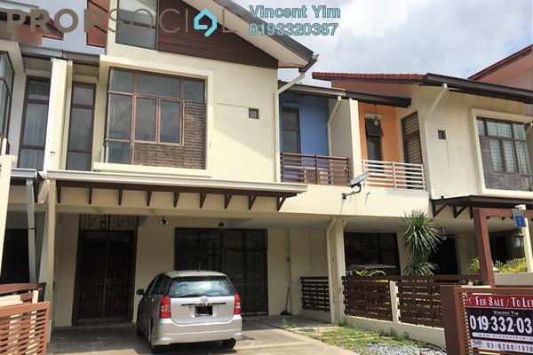 For Rent Terrace at Lagenda 1, Bukit Jelutong Freehold Semi Furnished 6R/6B 2.9k