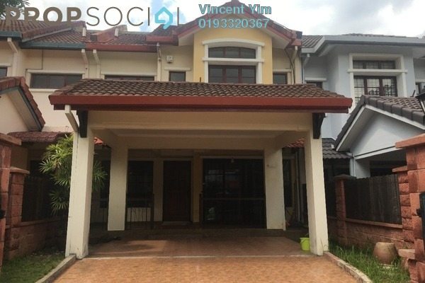 For Sale Terrace at Section U8, Bukit Jelutong Freehold Semi Furnished 4R/4B 850k