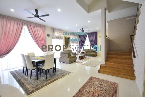 For Sale Terrace at Section 4, Shah Alam Freehold Unfurnished 4R/3B 2.5Juta