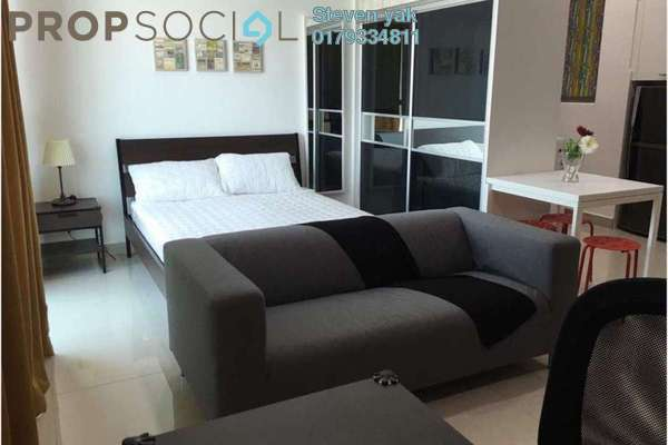 For Rent SoHo/Studio at CyberSquare, Cyberjaya Freehold Fully Furnished 0R/1B 1.5k