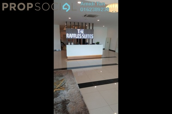 For Sale Condominium at The Raffles Suites, Johor Bahru Freehold Semi Furnished 3R/2B 679k