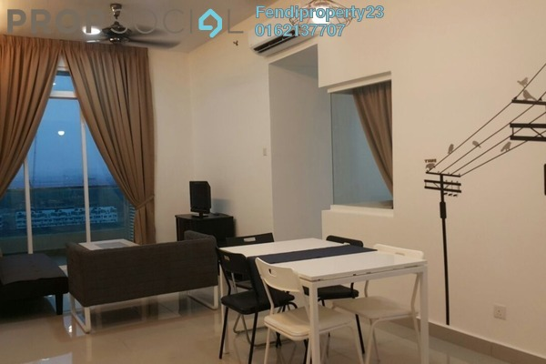 For Rent Condominium at Mutiara Ville, Cyberjaya Freehold Fully Furnished 3R/2B 1.7k