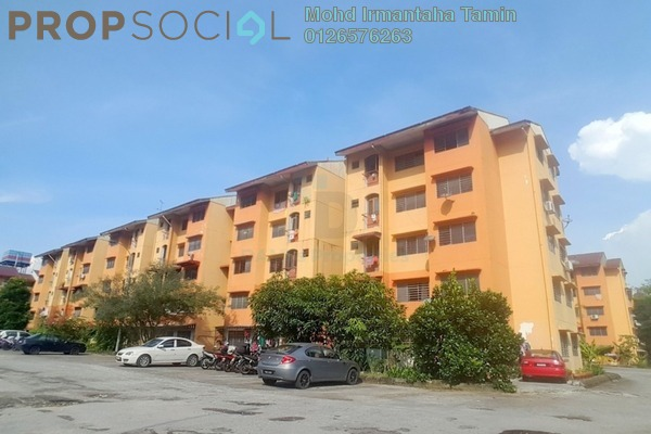 For Sale Apartment at Section 8, Shah Alam Leasehold Unfurnished 2R/1B 150k