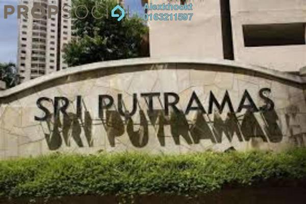 For Sale Condominium at Sri Putramas I, Dutamas Freehold Semi Furnished 3R/2B 460k