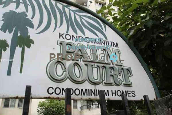 For Rent Condominium at Palm Court, Brickfields Freehold Fully Furnished 3R/2B 2.7k