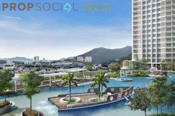 For Sale Condominium at Park View, KLCC Freehold Unfurnished 3R/2B 488k