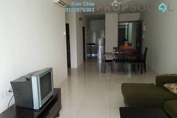 For Sale Condominium at Sentral Residences, Kajang Freehold Semi Furnished 3R/2B 520k
