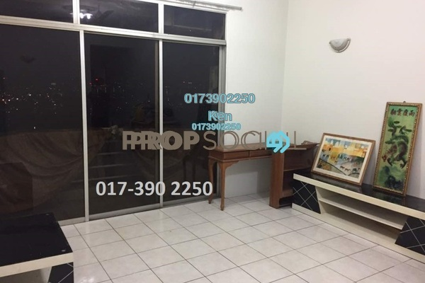 For Sale Condominium at Impian Heights, Bandar Puchong Jaya Freehold Semi Furnished 3R/2B 400k