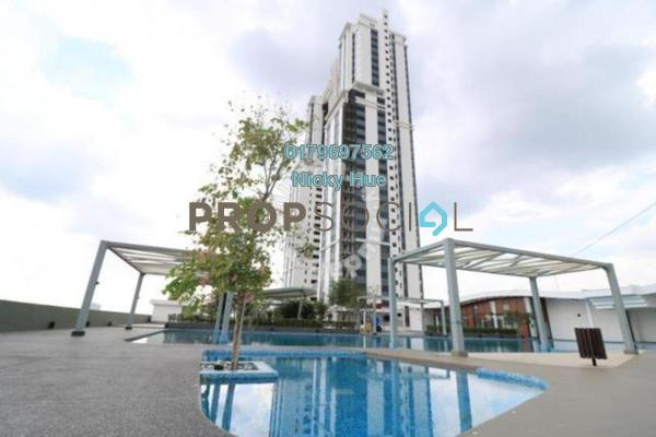 For Sale Condominium at Encorp Strand Residences, Kota Damansara Leasehold Fully Furnished 3R/2B 928k