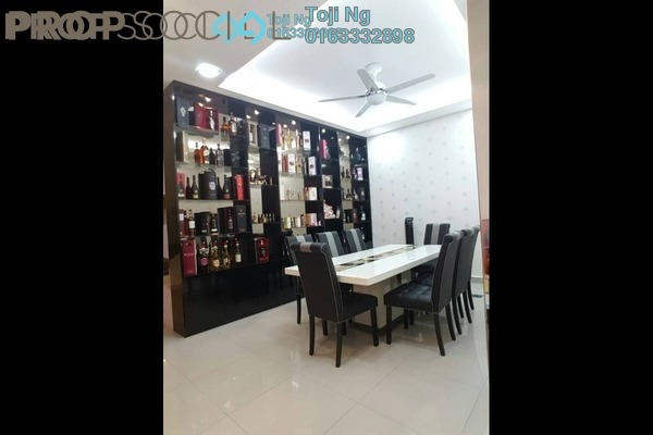For Sale Terrace at KYK Heights, Balakong Freehold Fully Furnished 5R/5B 950k