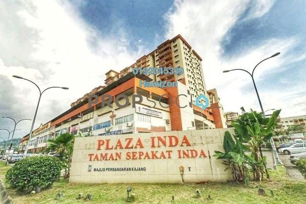 For Sale Apartment at Plaza Indah, Kajang Freehold Unfurnished 3R/3B 260k