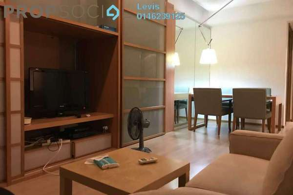 For Rent Condominium at VERVE Suites, Mont Kiara Freehold Fully Furnished 2R/2B 3.2k