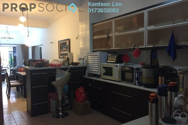 For Sale Terrace at Taman Tasik Indah, Jalan Ipoh Freehold Semi Furnished 6R/5B 1.38m