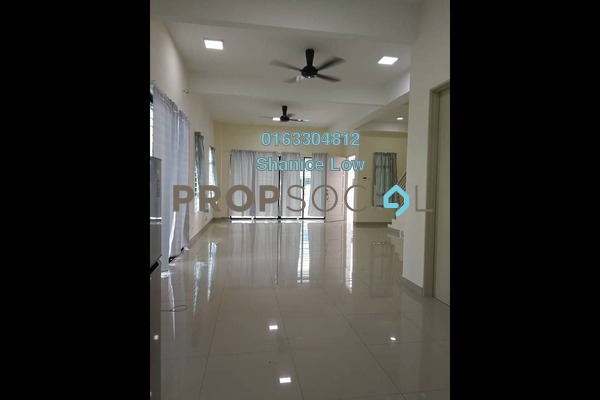 For Rent Terrace at Lakeside Residences, Puchong Freehold Semi Furnished 5R/4B 2.5k