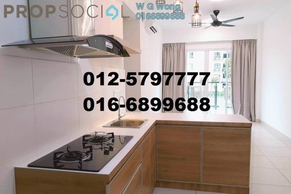 For Rent Condominium at Tropicana Bay Residences, Bayan Indah Freehold Semi Furnished 3R/2B 1.8k