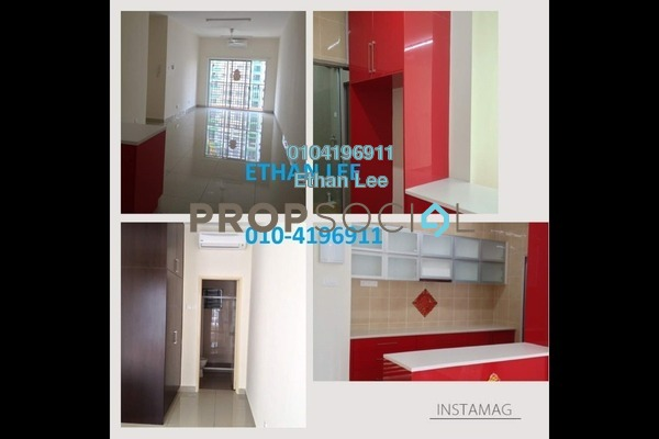 For Sale Serviced Residence at OUG Parklane, Old Klang Road Freehold Semi Furnished 3R/2B 380k