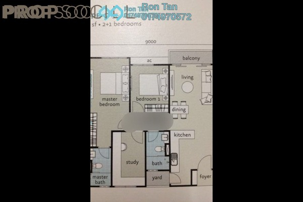 For Sale Condominium at Tropicana Bay Residences, Bayan Indah Freehold Semi Furnished 3R/2B 800k