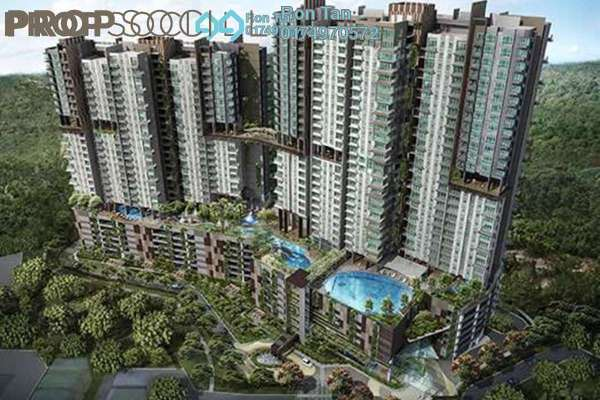 For Sale Condominium at Setia Sky Vista, Relau Freehold Semi Furnished 3R/2B 680k