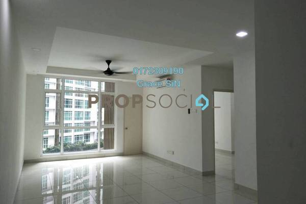 For Rent Condominium at The Court, Sungai Besi Freehold Semi Furnished 2R/2B 1.6k