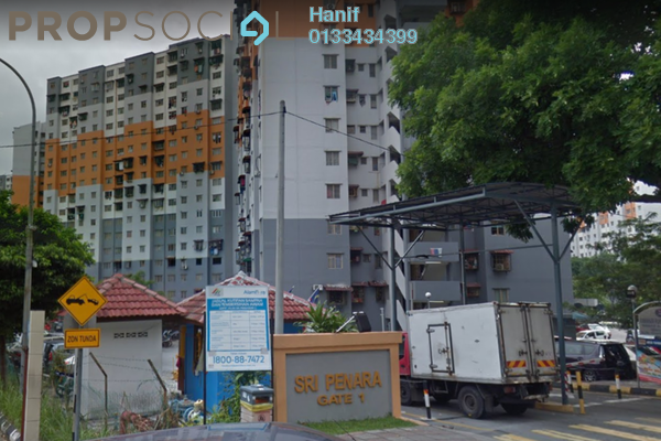 For Sale Apartment at Sri Penara, Bandar Sri Permaisuri Leasehold Unfurnished 3R/2B 230k