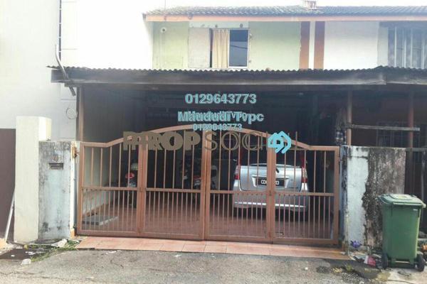 For Sale Terrace at Taman Koperasi Polis, Sentul Freehold Semi Furnished 3R/2B 400k